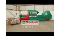 GH 500 Large Baler Video