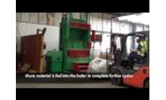 Gradeall Carpet Baler Video