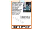 Belt Conveyor - Brochure