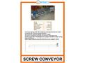 Screw Conveyor - Brochure