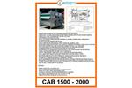 Belt Presses - Cab 1500 - 2000 - Brochure
