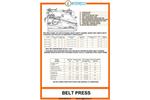 Belt Presses - Edom - Brochure