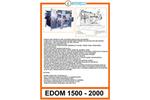 Edom - Model 1500 2000 - Belt Presses - Brochure
