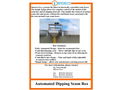Automated Dipping Scum Box - Brochure