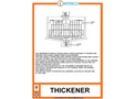 Thickener - Brochure