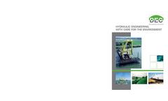 Hydraulic Engineering Brochure (PDF - 965 Kb)