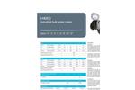 Model H4000 - Cold Water Meters  Brochure