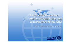 Globally Harmonized System of Classification and Labeling of Chemicals (GHS) Persentations