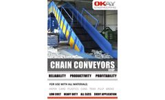 Okay - Chain Conveyor Belt on Slat - Datasheet