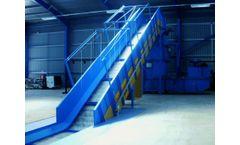 Okay - Chain Conveyor Belt on Slat