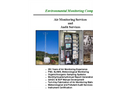 Air Monitoring & Auditing Services Brochure- Brochure