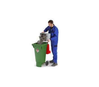 Containers for solid hazardous materials - Waste and Recycling - Hazardous Waste