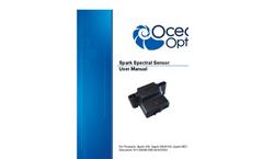 Ocean Optics - Model Spark-VIS - Ultra-compact Visible Spectral Sensor - Manual