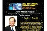 ASLO 2013 Martin Award to Val Smith Video