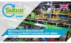 Mechanical-biological treatment plant (MBT), Kielce. Sutco®