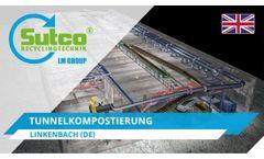 Tunnel composting. Linkenbach. Sutco®
