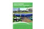 Aqua Barrier - Temporary Water Inflated Dams - Brochure