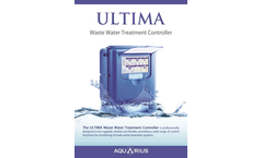Aquarius - Model Ultima - Touch Screen Controllers - Brochure