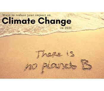 Ways to reduce your impact on climate change in 2021
