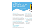 Heron Water Tape Brochure