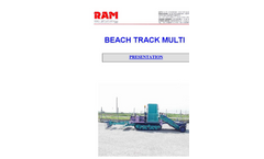 Beach Track Multi Presentation Brochure