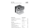 UVT 1000 Power Controler for UV Lamps Brochure