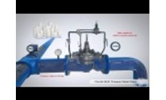 Cla-Val 50-01 Pressure Relief Valve 3D Animation - Video