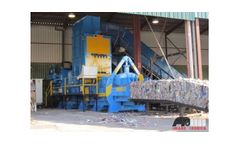Imabe Iberica - Model CDR - Refuse-Derived Fuel (RDF) Balers