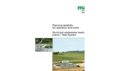 Municipal Sewage Treatment Systems Brochure