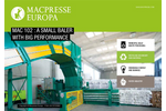 MAC 102 : A Small Baler With Big Performance - Brochure