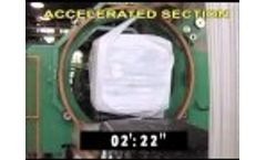 Waste Baler for Municipal Solid Waste MAC 112: Baling and Wrapping in Amsa, Milan, Italy Video