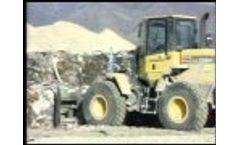 Solid Waste Transfer Station Metro Waste, Utah. MRF With Macpresse and Sierra System Video