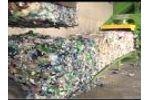 Automatic Plastic Baler MAC 110 Baling Plastic Containers, Bohme Plant Video