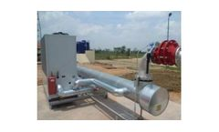 Gas Cooling and Drying System for Flue Gas Treatment