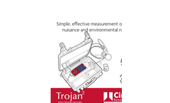 Trojan 2 Noise Nuisance Recorder Overview - Brochure