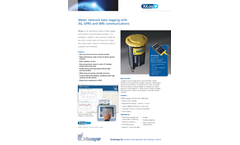 Primayer XiLog+ Water Network Data Logging with 3G/GPRS and SMS Communications - Datasheet