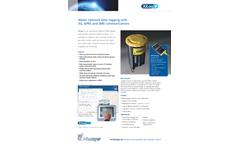 Primayer XiLog+ Water Network Data Logging with 3G/GPRS Communications - Datasheet