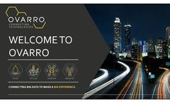 Welcome to Ovarro