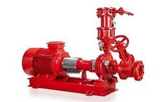 Masdaf - Model YNM NFPA - End Suction Centrifugal Fire Pumps