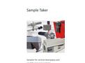 Siebtechnik - Pipe Spoon Sample Taker - Brochure