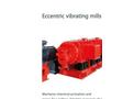 Siebtechnik - Model ESM - Vibrating Mills - Brochure