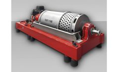 Siebtechnik - Model Turboscreen - Screen Bowl Decanter Centrifuge
