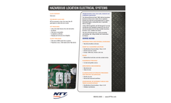National - Electrical Systems: Hazardous Locations Training Training Brochure