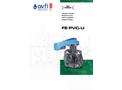 Model FFEOV - FIP UPVC Wafer Butterfly - Brochure