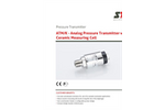 STS - Model ATM/K - Analog Pressure Transmitter with Ceramic Measuring Cell - Datasheet