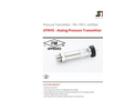 STS - Model ATM/IS - Analog Pressure Transmitter - Datasheet