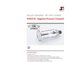 STS - Model ATM/F/IS - Hygienic Pressure Transmitter - Datasheet