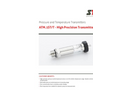 STS - Model ATM.1ST/T - Pressure and Temperature Transmitters - Datasheet