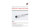STS - Model DTM.OCS.S/N - Submersible Digital Transmitter - Datasheet
