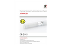 STS - Model ATM/NC/Ex - Chemical Resistant Submersible Level Transmitters - Datasheet